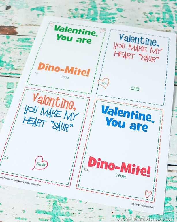 Valentines Day ideas for kids include making their own cards.