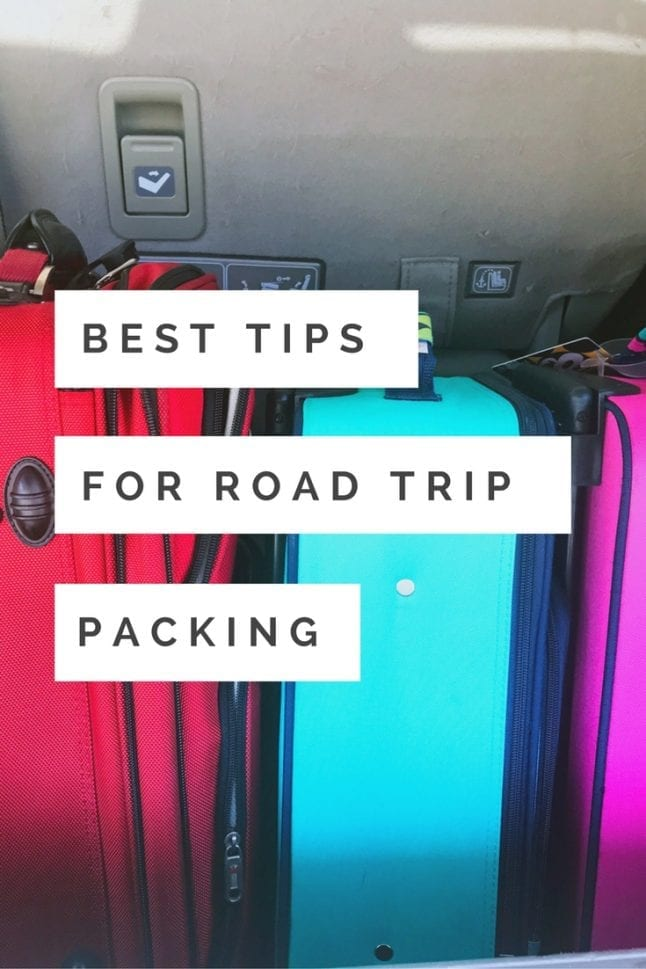 Are you road tripping it this summer? Read my best packing tips for road trips to help you make the most of your travels. #RoadTripTreats AD