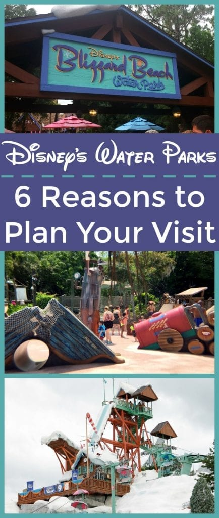 Plan a visit to Disney's Water Parks! These six reasons explain why they are worth your time, especially during the dog days of summer. Stay cool at Disney's Water Parks!