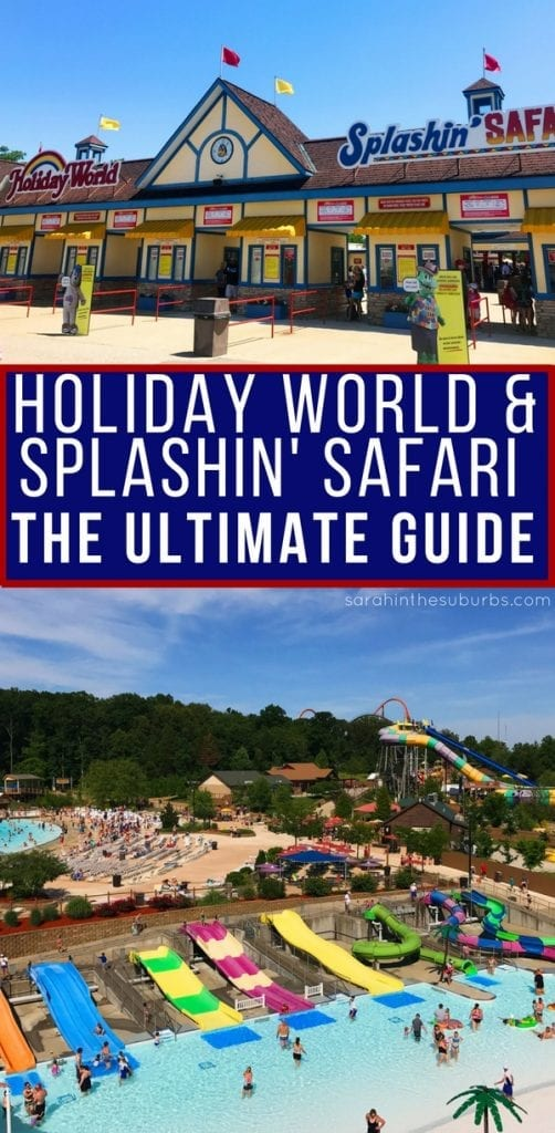 For a unique road trip, consider driving to Santa Claus, Indiana for a visit to Holiday World. This ultimate guide to Holiday World in Santa Claus, Indiana will help you make the most of your visit. #travel #traveltips #summervacation #holidayworld #splashinsafari #santaclaus #indiana #familytravel