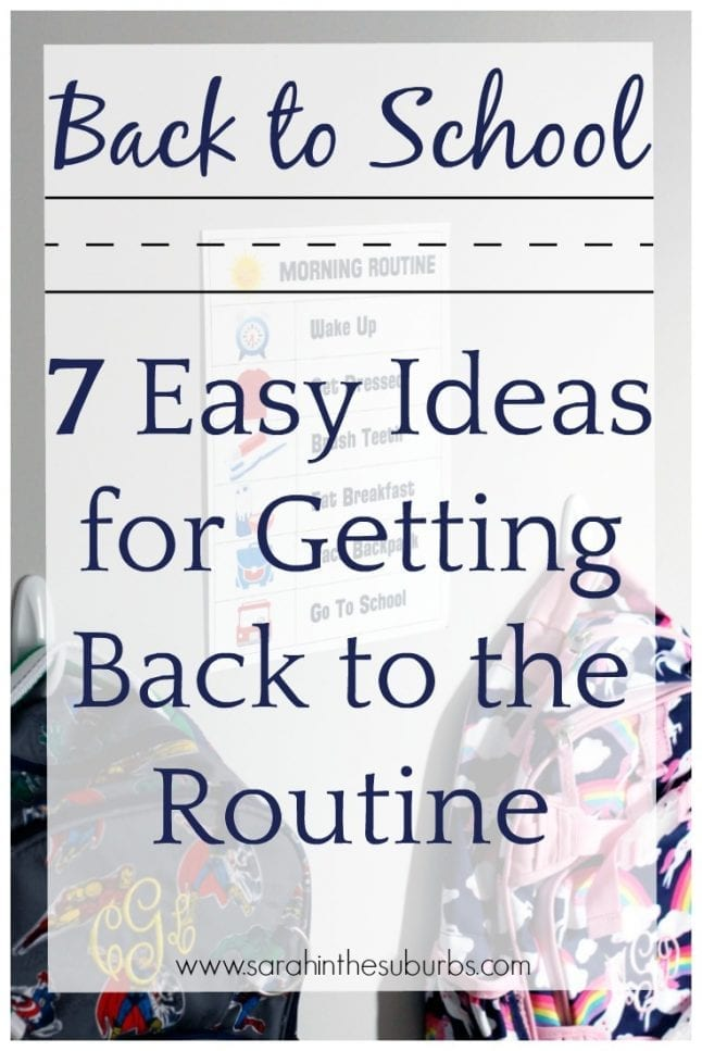 Getting back into a school routine can be hard. Read these best tips and ideas for getting back to the school routine easily. It can be done!