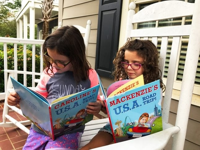 personalized children's travel books
