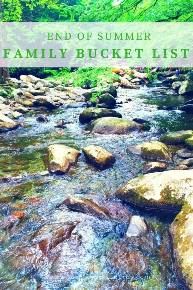 School is on the horizon and families are wanting to end on a high note. If that sounds like you, check out this great list of the best end of summer bucket list activities for families. Plan your end of the summer fun ASAP! #SummerIsForSavings #ad