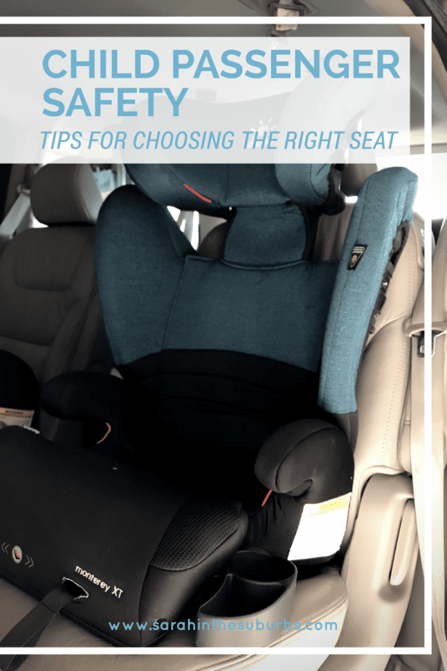 Child Passenger Safety is an important topic for all parents. Find out how and where you can get the best advice on car set installation, and read my review of the Diono Monterey XT Booster Seat.