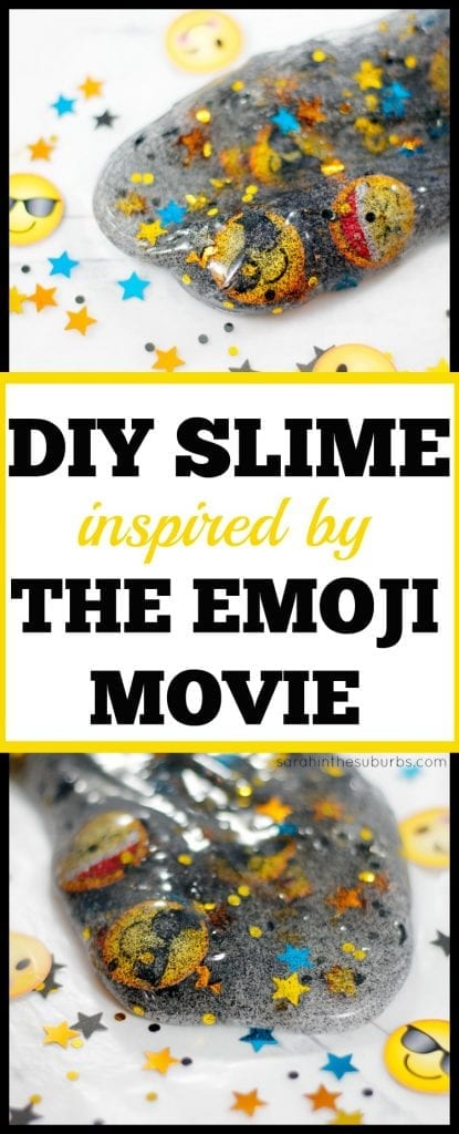 Celebrate the release of The Emoji Movie with this easy activity! Learn how to make emoji slime inspired by the movie. Get your copy of the film October 24 and take it home for family movie night! #emojimovie #slime #diy #slimerecipe AD