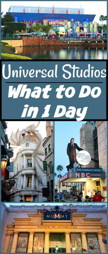 Spending 1 day at a theme park can be tough, but it can be done. What would you do with 1 day at Universal Studios? Find out exactly what I did and what to do in 1 day at Universal Studios.