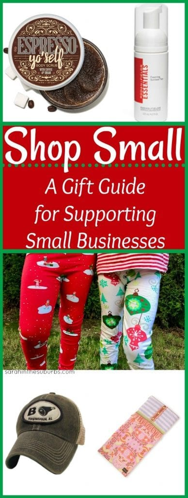 How can you support your friends and their families? By shopping small of course! Shop small this holiday season and support local entrepreneurs and their families. It's Christmas shopping made easy!