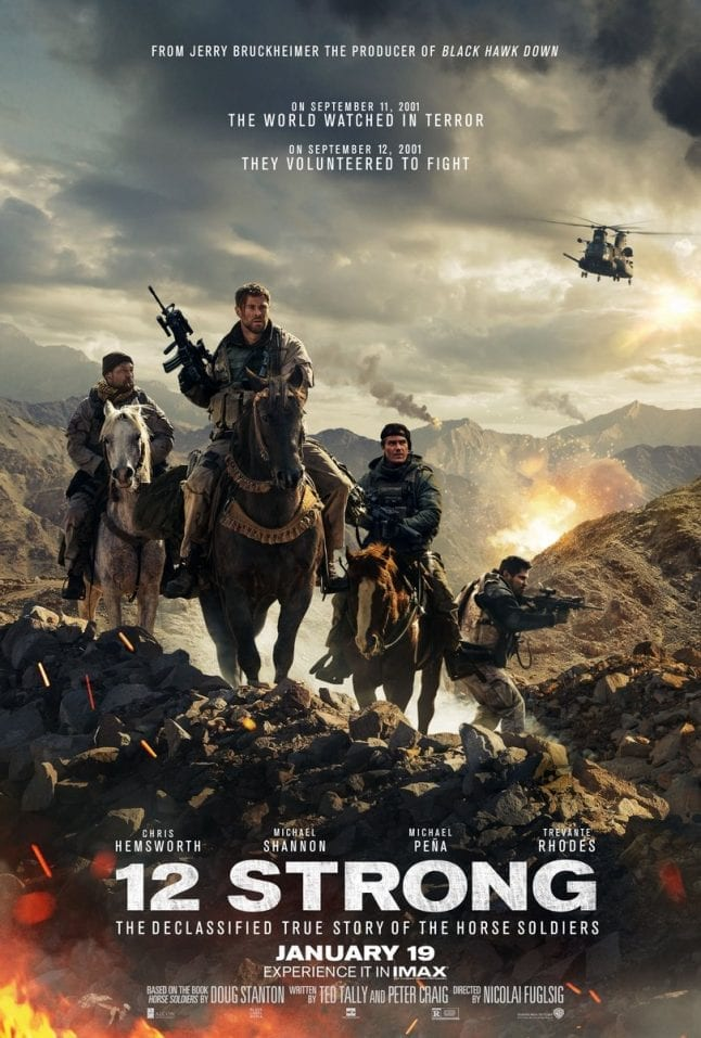 12 Strong Movie Release Poster