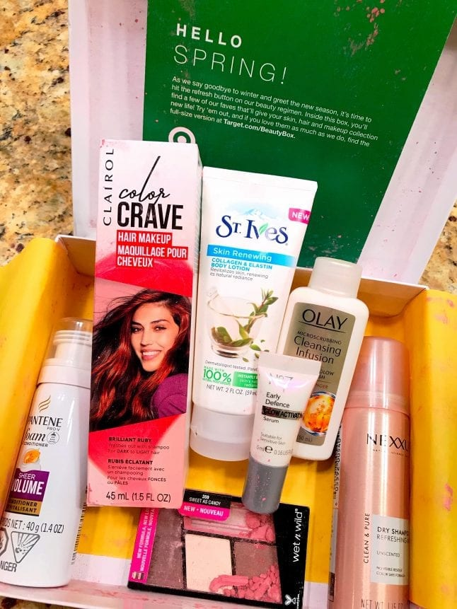 Spring Beauty Box from Target