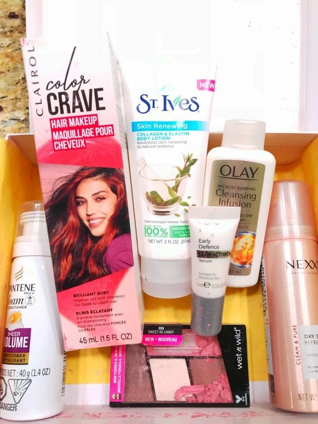 Target Beauty Box Contents