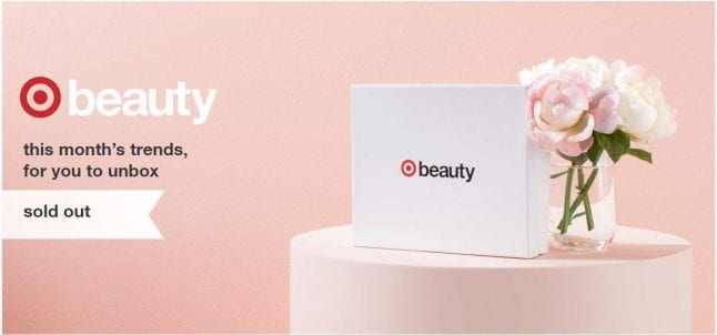 Target March Beauty Box