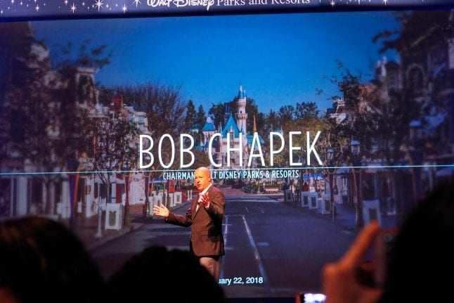 We heard from speaker Bob Chapek at the 2018 Disney SMMC.