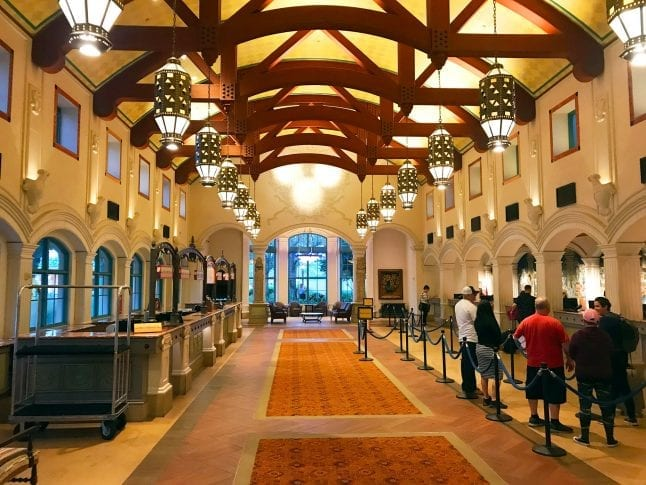Lobby of Coronado Springs Resort