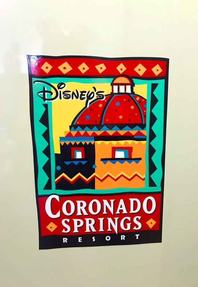 Logo for Coronado Springs Resort.
