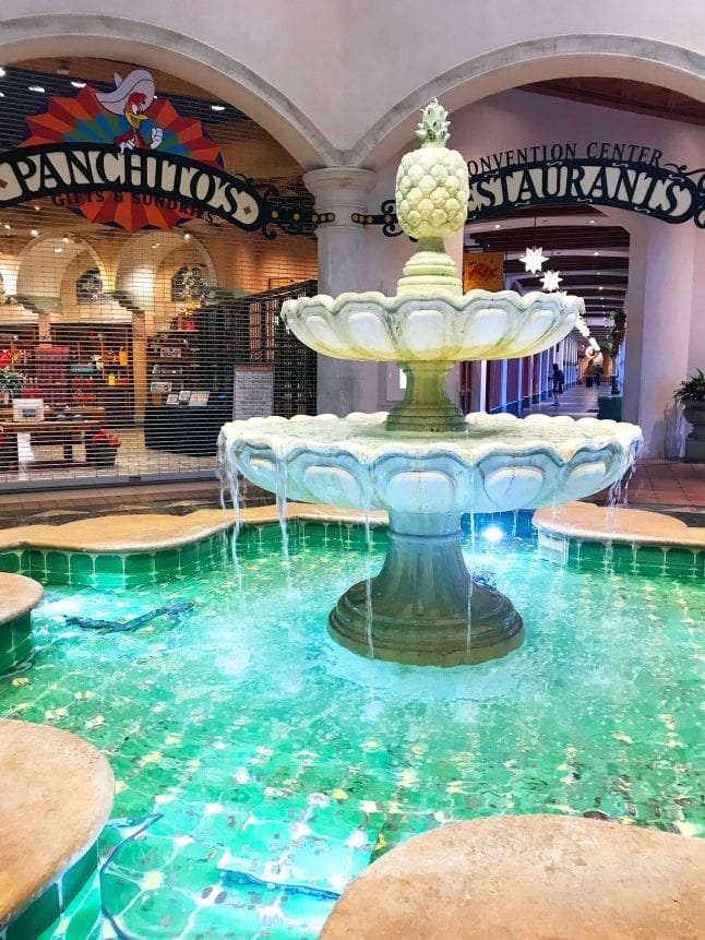 Coronado Springs Lobby Fountain