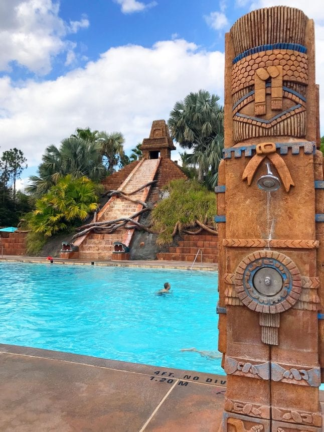 Lost City of Cibola main pool at Coronado Springs.