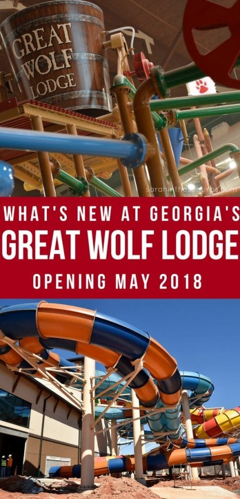 Great Wolf Lodge is opening its newest location in May of 2018! LaGrange, Georgia will be home to the new hotel, water park, and family fun resort from the Great Wolf Lodge brand. Check out what's new and what to expect before you go! Plan your stay with an offer that can save you up to 30%! #greatwolflodge #gwlgeorgia #familytravels #summervacation #familyvacation #traveltips