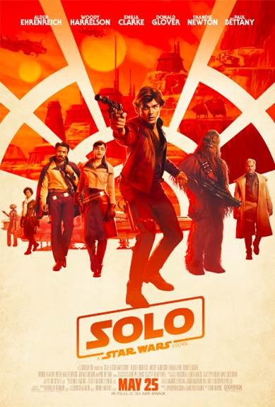 Solo: A Star Wars Story Official Poster