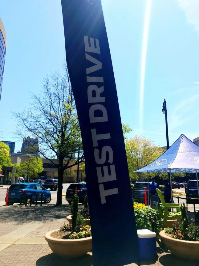 Sign up to test drive a Ford at the 2018 Alabama Auto Show