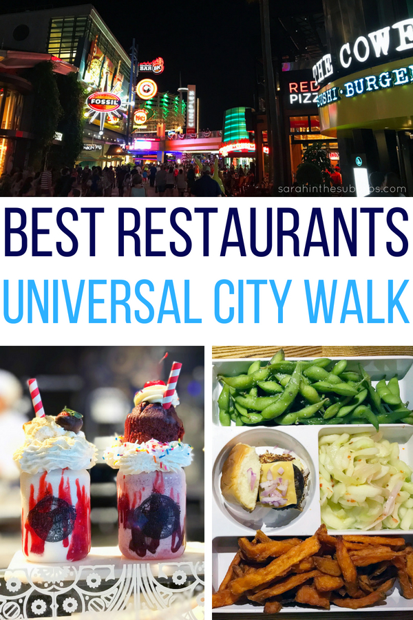 Universal Orlando is a fantastic destination for travelers. Some of the best Orlando restaurants are located right outside the park gates at City Walk. How do I know which ones are best? I've tried them! Take a look and see why I think these are the best restaurants at Universal City Walk. #universalmoments #universalORL #bestrestaurants #foodie #placestoeat #visitorlando #visitfl #goodeats #dining