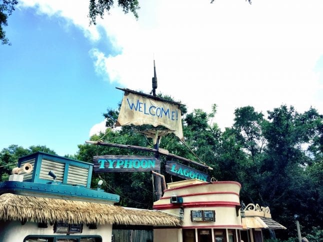 Experience H20 Glow Nights at Typhoon Lagoon in Disney World in summer of 2018.