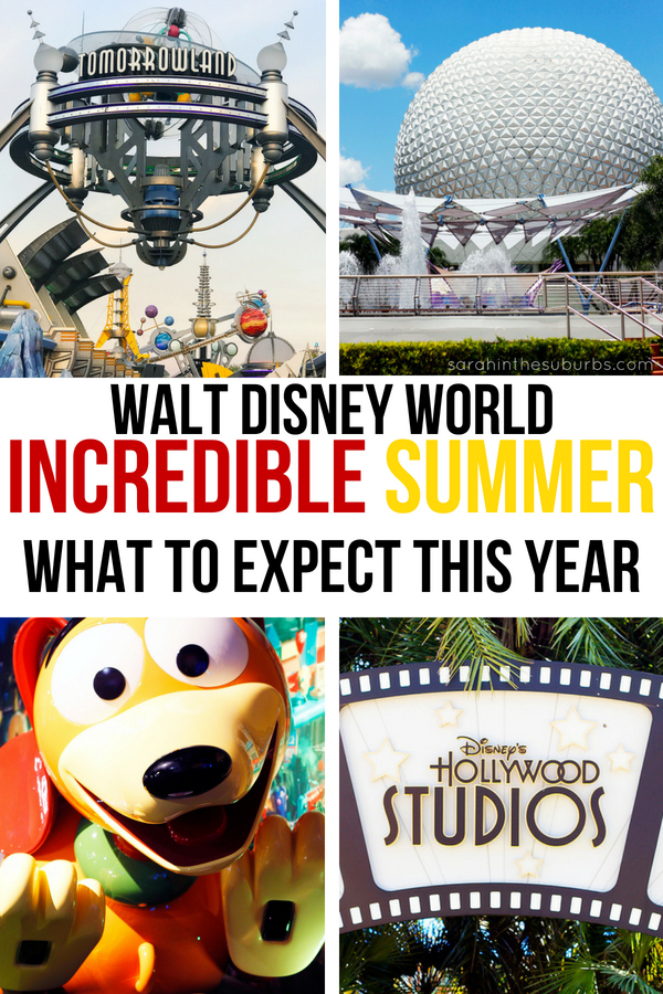 Disney World in summer is going to be INCREDIBLE! Check out all the fun things to do a see beginning May 25! You don't want to miss all the fun this summer at Walt Disney World! #incrediblesummer #wdw #disney #disneytravel #disneytrips #disneytips #disneyworld #summervacation #summertravel