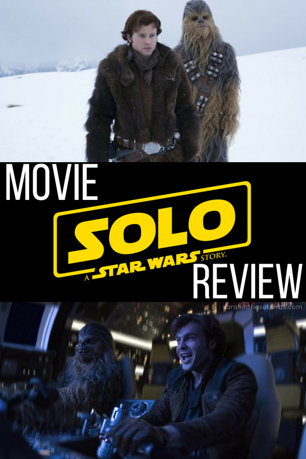 #Solo A #StarWars Story is playing in theaters everywhere! Is it worth seeing? Will Star Wars fans like it? I think they will! I also think it's safe for kids to see too. Check out my review and make plans to see Solo in #theaters ASAP! #starwarsmovies #moviereview #solo #hansolo #starwarsfilms #starwarsreviews #fanreview #moviecritic