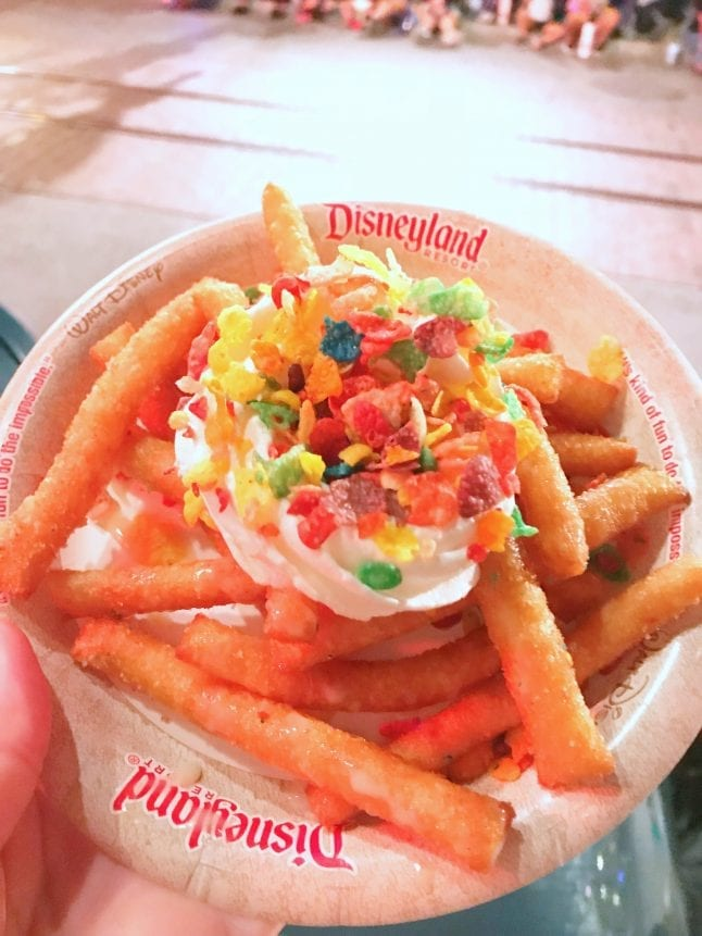 Funnel Cake Fries were just ok at Pixar Fest.