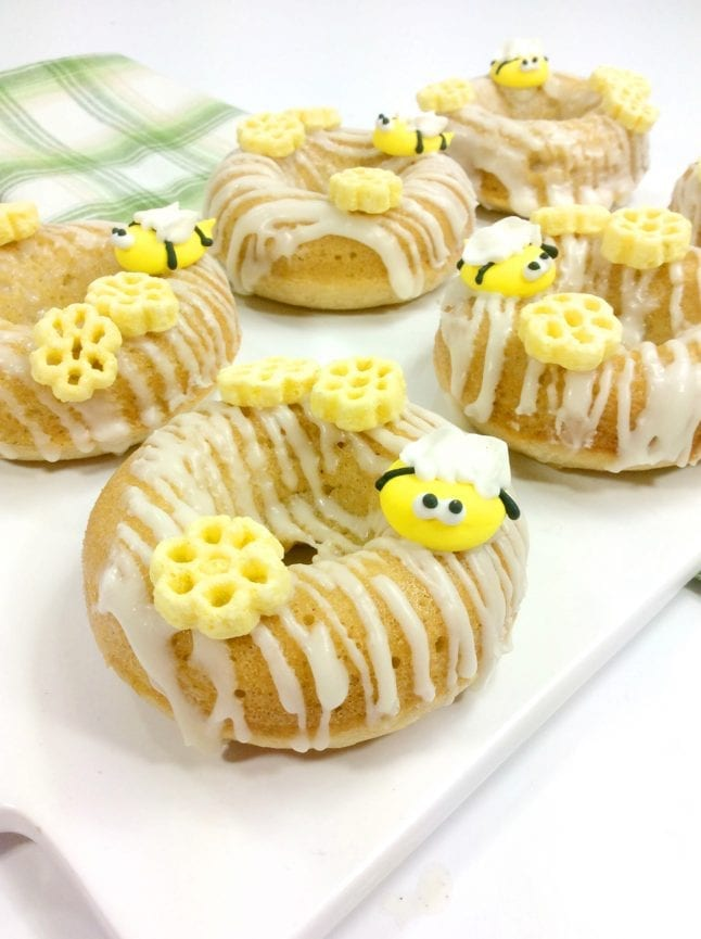 Honey Bee Donuts inspired by Winnie the Pooh