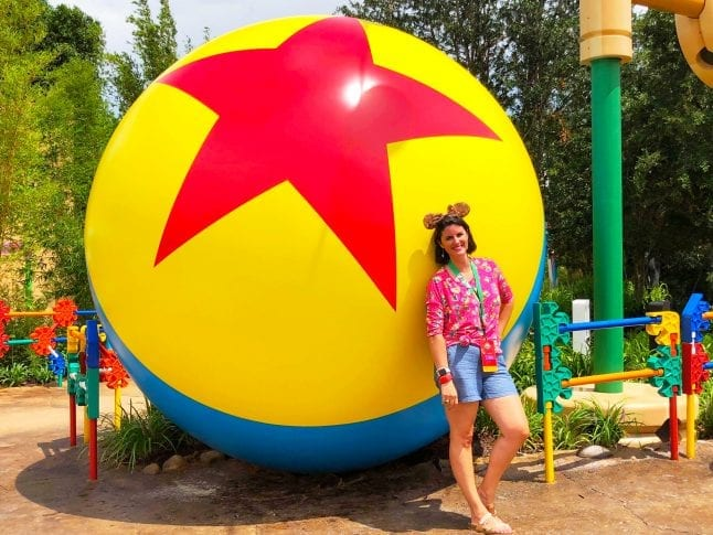 Luxo Ball is the perfect photo op in Toy Story Land