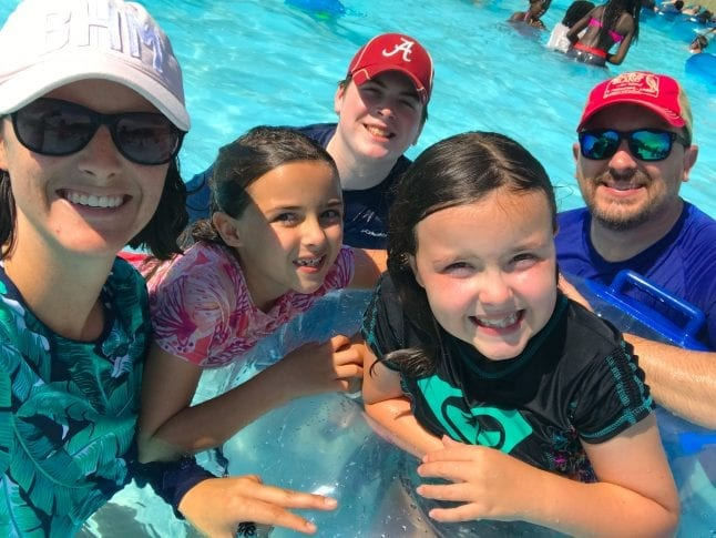 Family fun in Splash Country