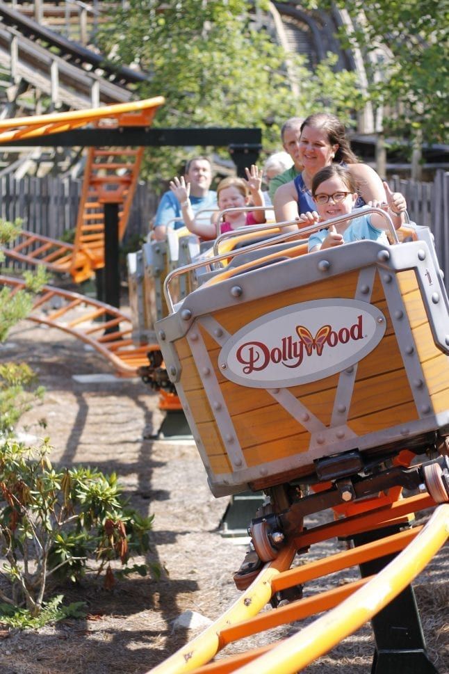 NEW Whistle Punk Chaser coaster at Dollywood