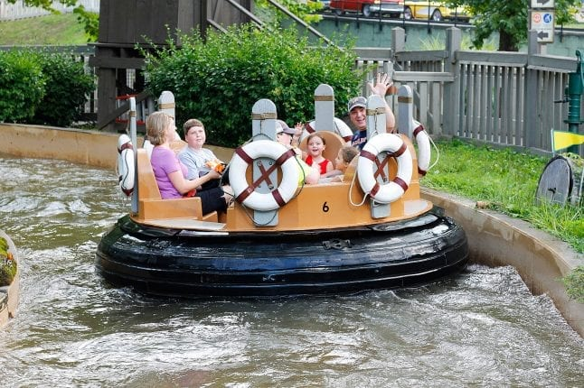 You will get wet on Smoky Mountain River Rampage at Dollywood