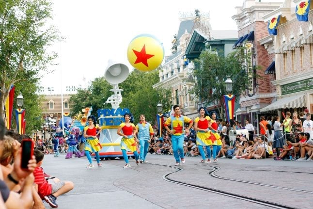 The Pixar Play Parade at Pixar Fest at Disneyland is incredible! Don't miss it!