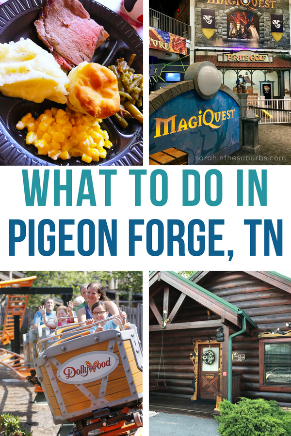 Looking for things to do in Pigeon Forge, Tennessee? I've got a great list of where to stay, eat, and play! #mypfsummer AD #pigeonforge #tennessee #dollywood #summertravel #familytravel #traveltips #southerntravel