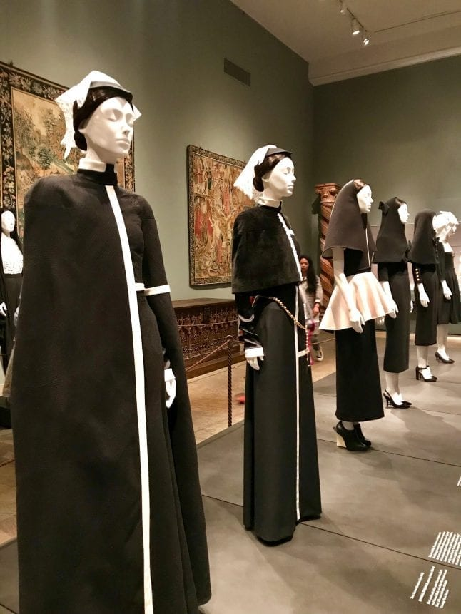 Visit The Met and see Heavenly Bodies: Fashion and the Catholic Imagination.