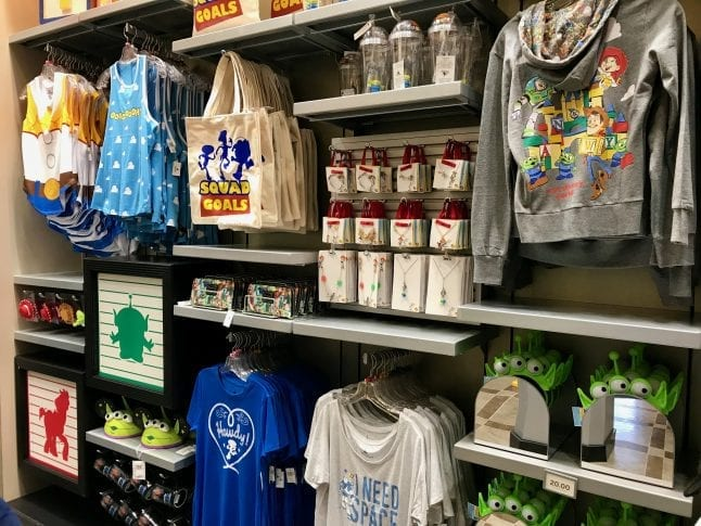 Toy Story Land merchandise in Disney World can be found at Beverly Sunset.