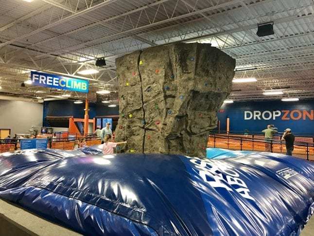 Sky Zone is an indoor activity for kids in Birmingham.