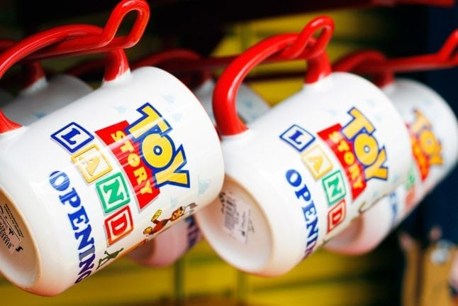Coffee Mugs in Toy Story Land