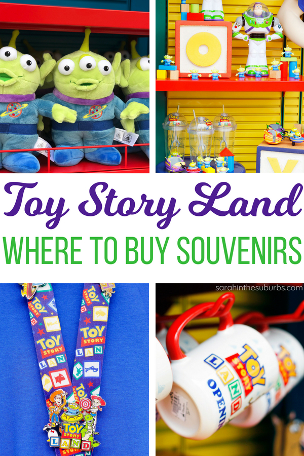 Where can you buy Toy Story Land merchandise? More importantly, what can you buy? We answer all that and more in this comprehensive guide to Toy Story Land souvenirs! #toystoryland #disneymerchandise #disneytoys #disneyshopping #disneysouvenirs #familytravel #disneytravel #disneytips