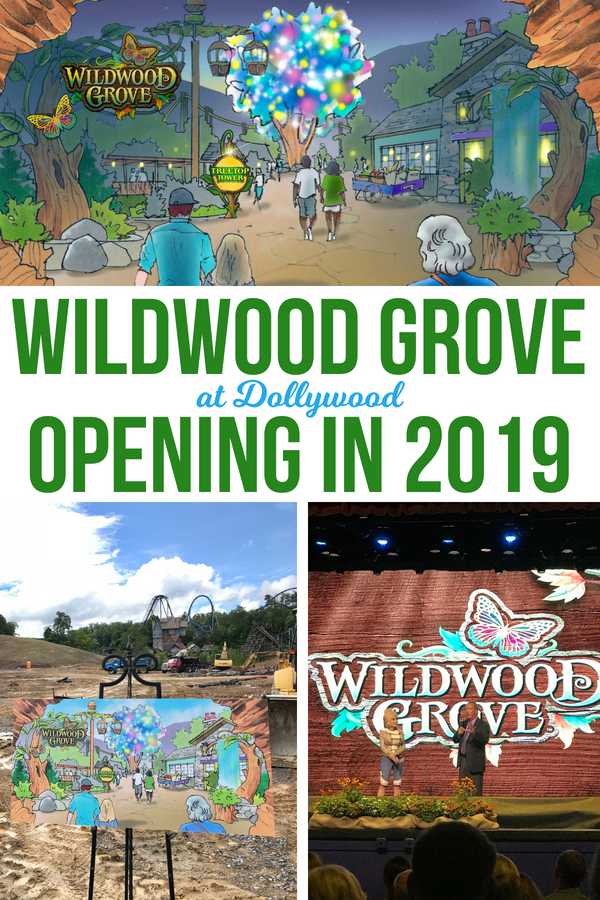 Dollywood's new land, Wildwood Grove, will be opening in 2019! Here's what you need to know about the park's big expansion. #dollywood #wildwoodgrove #themepark #familyvacation #traveltips #vacationtips #themeparktips #mypfsummer #tennessee #familytravel