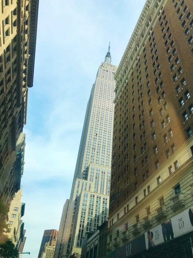 Visit the Empire State Building when you are in New York City.