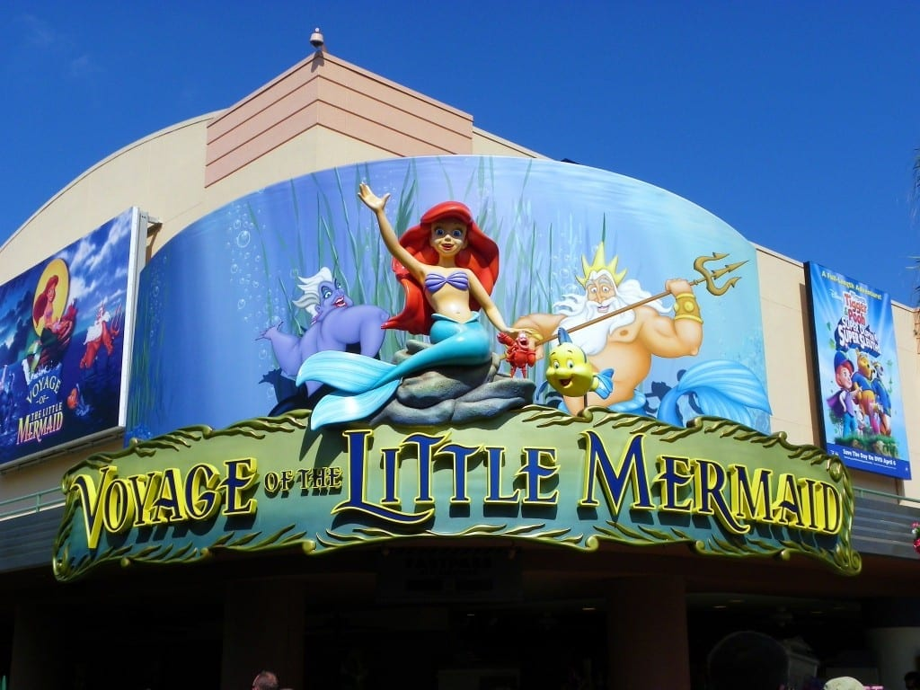 Voyage of the Little Mermaid is a great show at Disney's Hollywood Studios.