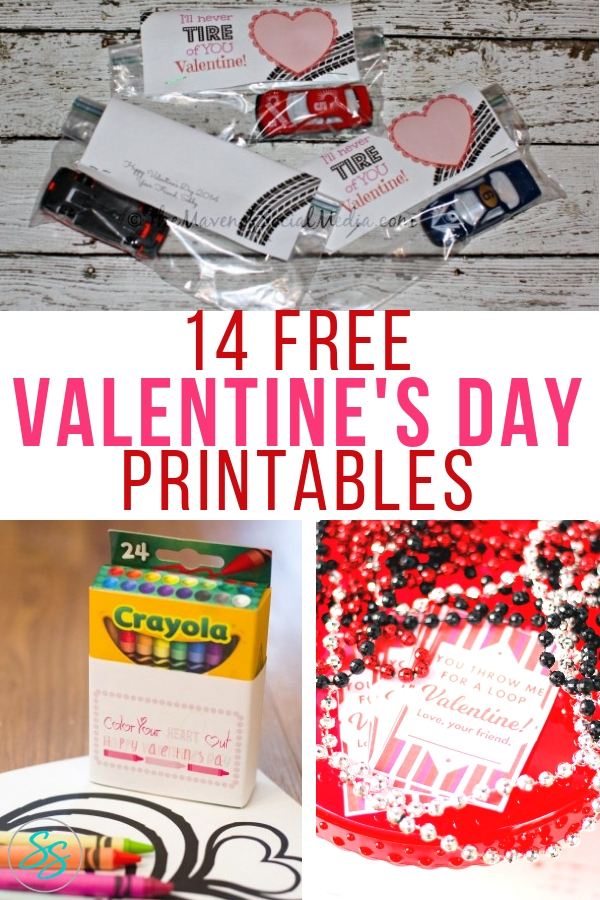 Who doesn't love a free printable! Make Valentine's Day extra special with this great list of free printable Valentines! #freeprintable #valentinesday #valentinesprintable #diyvalentine #diyforkids #valentines