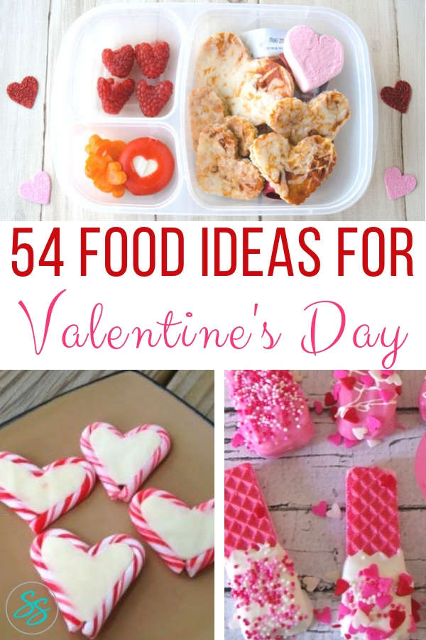 Valentine's Day is almost here! Check out over 50 ideas for snacks, desserts, and other food fun! #valentinesday #food #dessert #snacks #valentinesdayfood #recipes #sweets