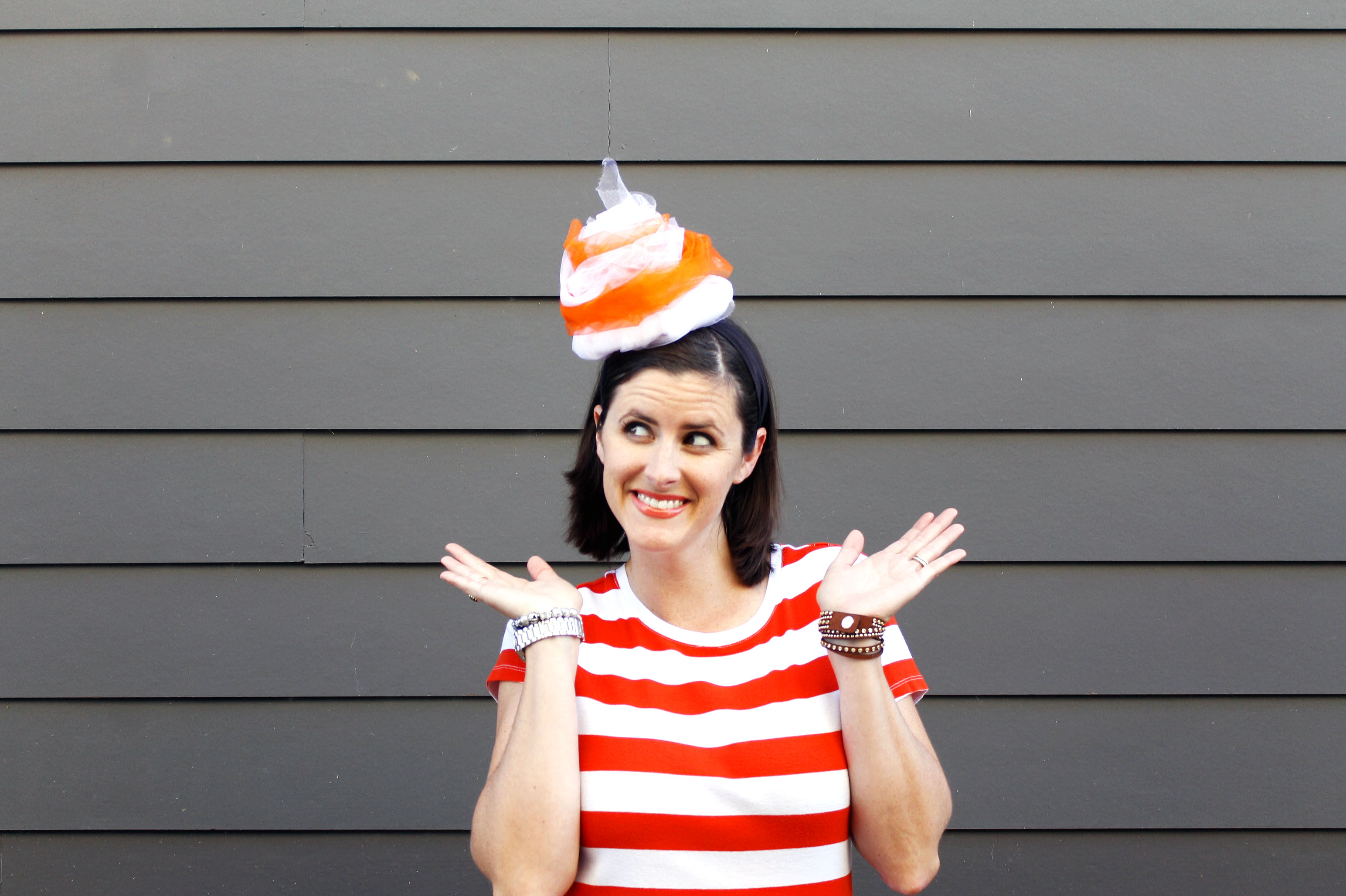 DIY Citrus Swirl Costumes bring the fun to your Halloween!