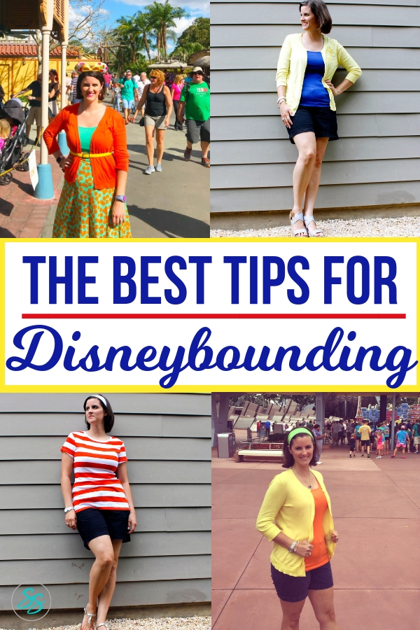 Best tips for Disneybounding are here! Learn what Disneybounding is, how to do it, and how it helps you show off your Disneyside! It's easier than you think to Disneybound on your next vacation! #disneybound #disneyfashion #disneytravel #disneytips