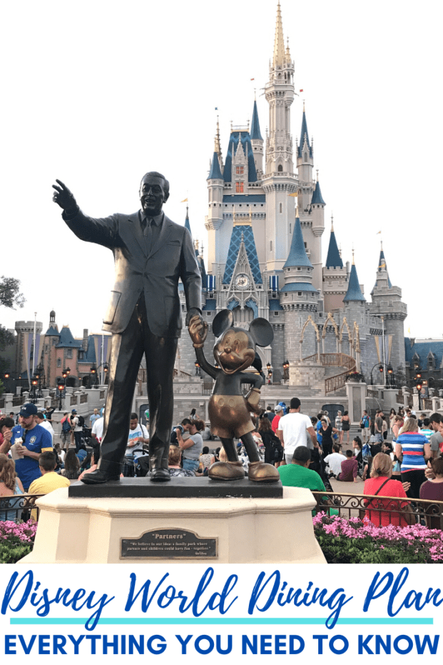 Changes are coming to Disney's Dining Plan in 2020! What are those changes? Are they going to benefit you? Read on for more about the new changes to the Disney Dining Plan to see if it's right for your family.