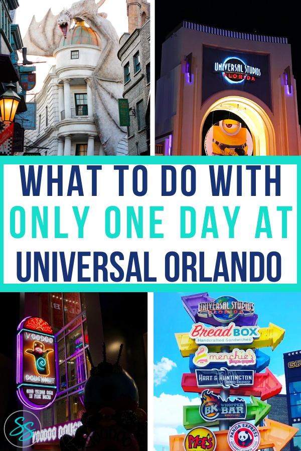 Spending 1 day at a theme park can be tough, but it can be done. What would you do with 1 day at Universal Studios? Find out exactly what I did and what to do in 1 day at Universal Studios. #universalorlando #universaltips #universalstudios
