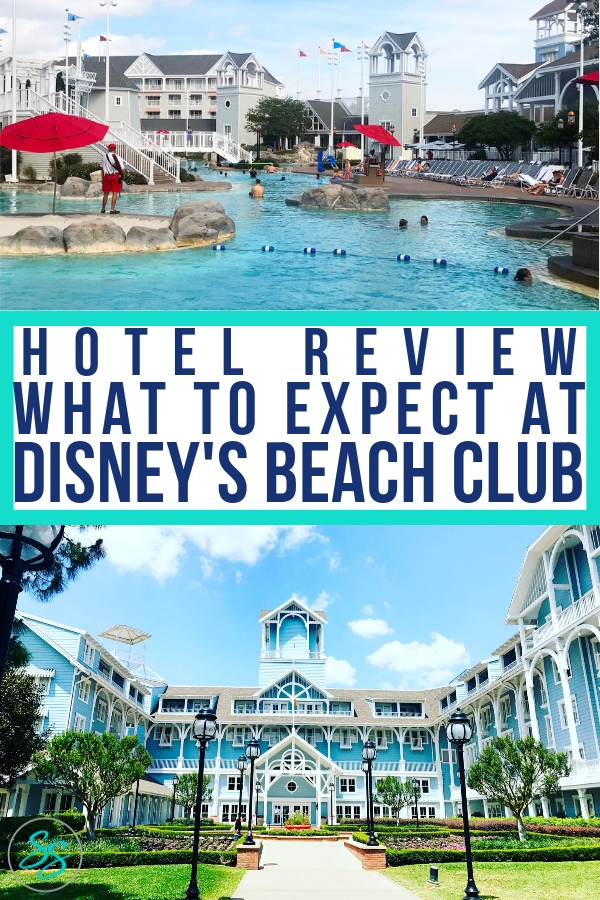 If you're considering stay deluxe, you'll want to consider the Beach Club. Great amenities and walking distance to the parks make this resort top notch. Find out what to expect at Disney's Beach Club Resort. #disneytravel #disneyhotels #wdw #disneyworld